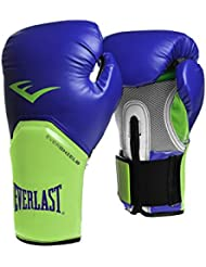 Everlast 2300BL/G12 - Guante de boxeo elite, color azul/ verde