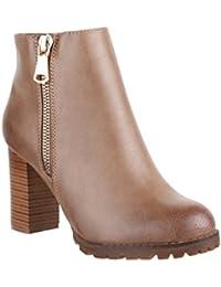 Suchergebnis auf Amazon.de für  ankle boots - Beige   Stiefel ... 1f766c0827