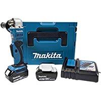 Makita DDA350RTJ Akku-Winkelbohrmaschine 18 V ZKBF / 5.0 Ah, 2 Akkus und Ladegerät im MAKPAC