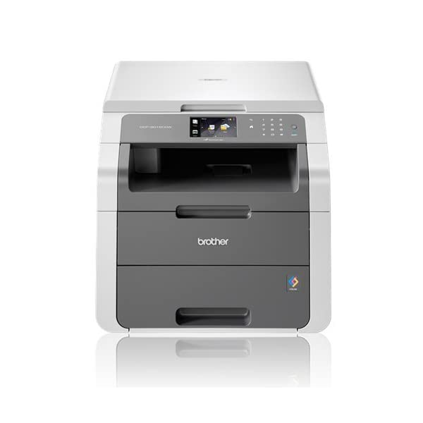 Brother Colour Laser Printer | Wireless & PC Connected | Print, Copy, Scan & 2 Sided Printing | A4 41YUq8e5DTL