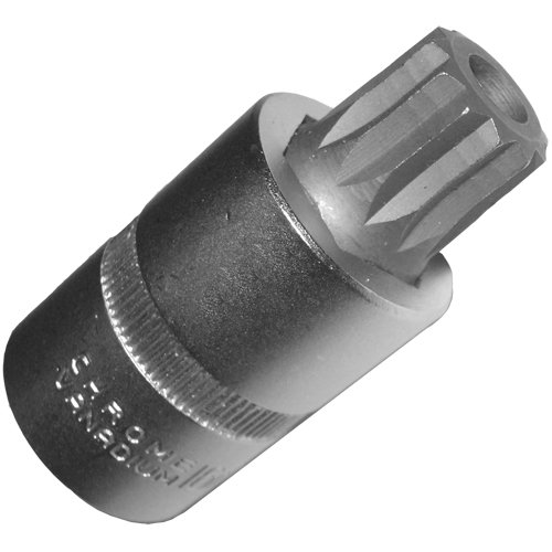 ALKAN-WERKZEUG M16 XZN - Dado per chiave a bussola con foro per tappi di scarico dell'olio del cambio, lunghezza 55 mm, per VAG VW AUDI