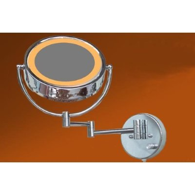LOYWE Beleuchtet wunderschöne Kosmetikspiegel 1+7F Lichtstaerke verstellbar hochwertig LW33