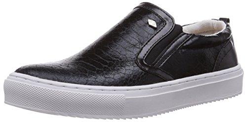 British Knights Chip, Low-Top Sneaker donna, Nero (Schwarz (Black-Snake 01)), 39
