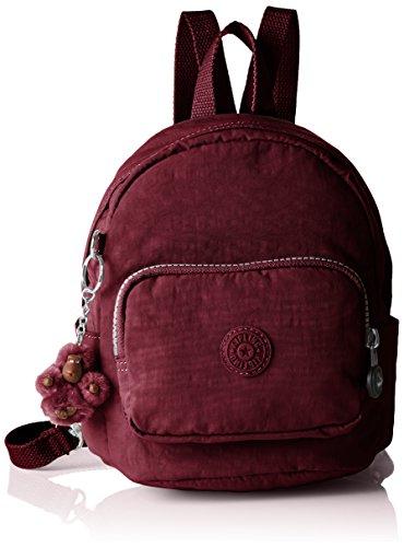 Kipling K12673 Damen Rucksackhandtaschen 19x21.5x17 cm (B x H x T), Rot (A12 Crimson) (Fob-mini)