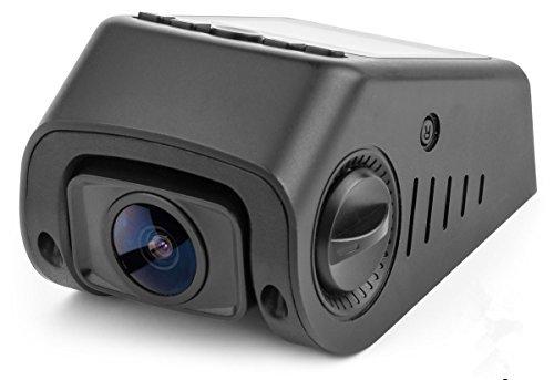 B40 A118C Kondensator Version GPS Stealth Dash Cam - 170 ° Weitwinkelobjektiv 6G - 160 ° C hitzebeständig - Full HD 1080P Auto DVR mit G-Sensor WDR -Nachtsicht Bewegungserkennung (GPS + Festverdrahten Kit)