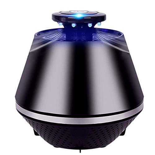 73JohnPol Elektronische Lichtsteuerung Fly Bug Moskito Insektenvernichter mit Trap Lampe zum Aufhängen Indoor Outdoor, schwarz -