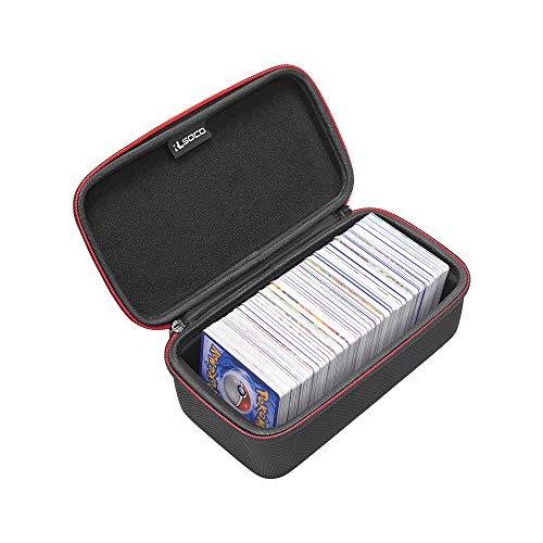 RLSOCO Tasche für Pokemon Karten (500 STÜCKE) - Rechteckiges, solides Design, passend für Pokemon-Sammelkarten und Kartenhüllen (nur im Sale erhältlich) (Tasco 500)