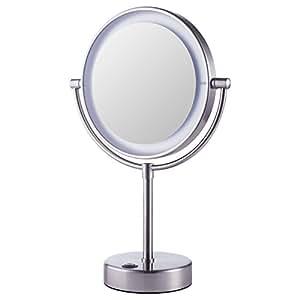 Ikea Kaitum Illuminated Magnifying Vanity Mirror With