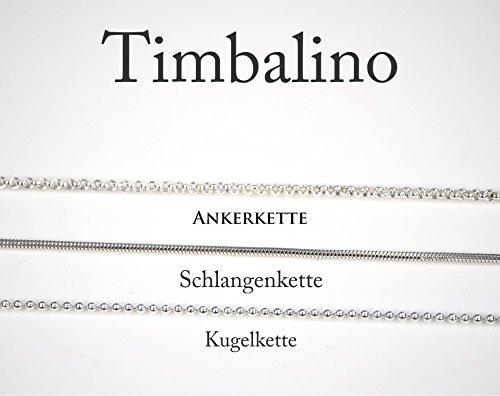 Namenskette Schutzengel Silber, Geburtsstein - 3