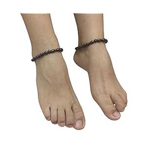 Damen Fußkettchen Magnettherapie