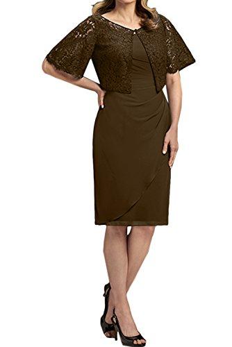 Ivydressing -  Vestito  - Astuccio - Donna Cioccolato