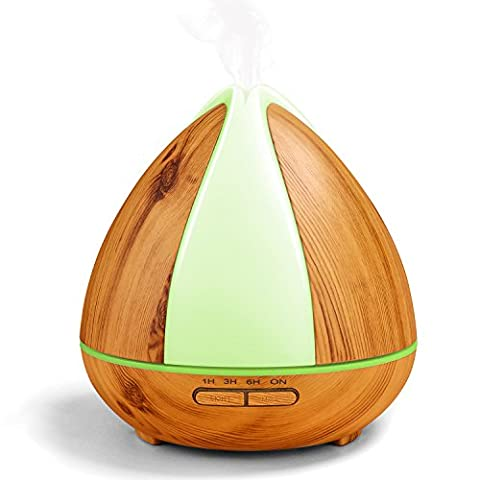 OMOTON 300ml Humidificateur Ultrasonique à Brume Fraîche, Humidificateur D