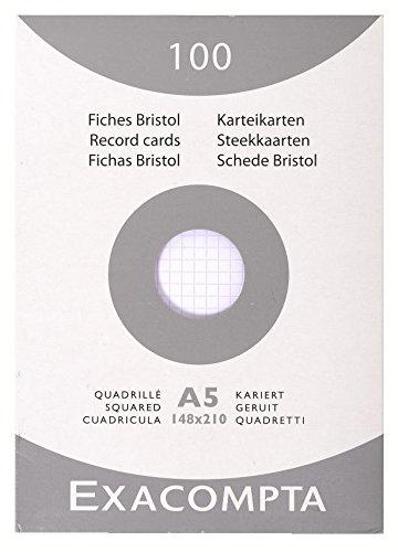 exacompta-13208e-papel-para-escribir-a5-color-blanco-papel-cuadriculado