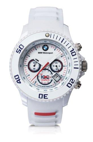 Original BMW Motorsport Ice Watch Chrono in Weiß