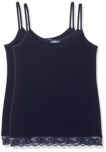 Cotonella Damen Pullunder, 2er Pack Blau