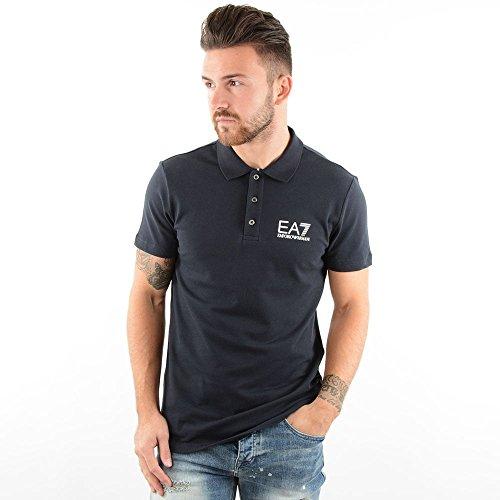 EA7 Emporio Armani EA7   Emporio Armani 6XPF52 Polo T-Shirt Black