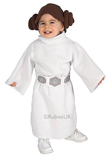 Baby Prinzessin Leia Kostüm Star Wars - Struts Fancy Dress Kleinkinder Größe Star
