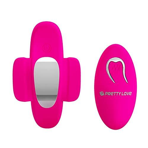 Tshirt Best Vibrater Rechargeable Wireless Remote Control 10 Geschwindigkeiten Wearable C String Panties Ei, 1 Nur von