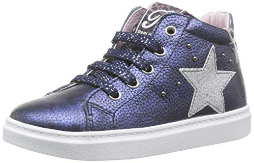 Pablosky 476123, Zapatillas Altas para Niñas, Azul Azul Azul, 33 EU
