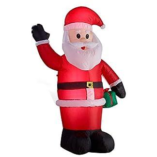 Gartenpirat Papá Noel LED, 180 cm, Exterior