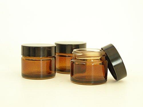 4er-packung-x-15ml-leeres-bernstein-glaskrug-mit-schwarzem-deckel-fur-aromatherapie-kosmetik-lippenb