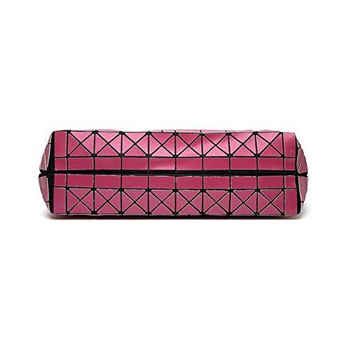 Handtasche Frauen Schultertasche Einkaufstasche Ling Laser Laser Bag Fashion Red