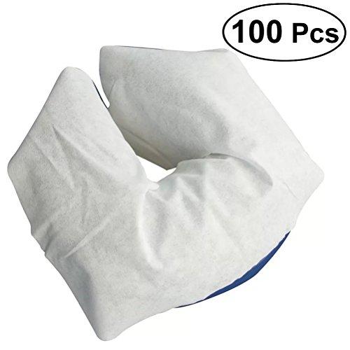 rosenice 100Einweg Massage Gesicht Wiege, weiche nicht klebend Face Rest Bezüge - Seidig Weiche Auge-kissen