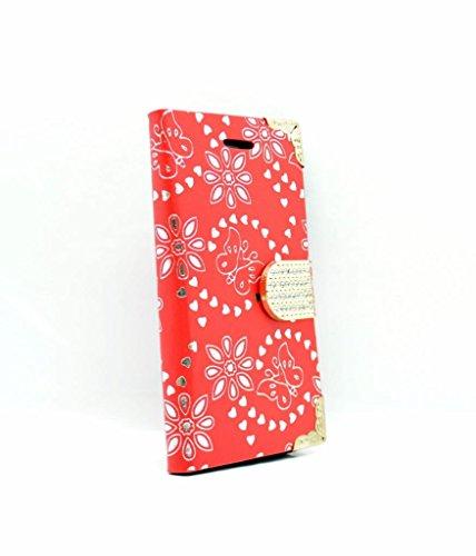 iPhone 7Wallet Fall–Zubehör für Handys von Oliviasphones weiß Musical Phone Giraffe rot
