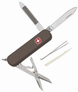 Wenger Original Schweizer Mini-Messer Executive 81/15, anthrazit