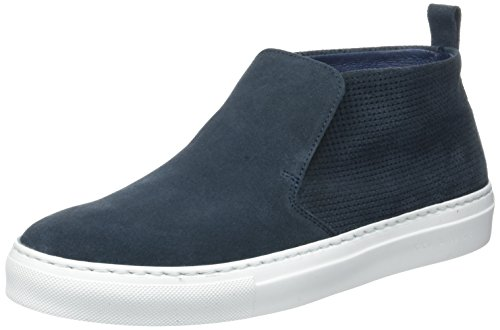 IKKSNavy Slip-on - Stivali a Gamba Larga Uomo , blu (Blu (Bleu Foncé)), 45 EU
