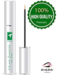 Tomiya Natural Extract Eyelash Growth Serum FEG Eyelash Enhancer for Longer, Thicker and Fuller Eyelash