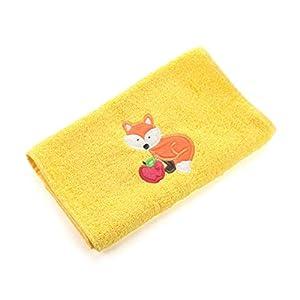 Emiko Store Kinderhandtuch; Kindergartenhandtuch; Kitahandtuch; Tuch mit gesticktem Muster; Handtuch als Kindergeschenk…