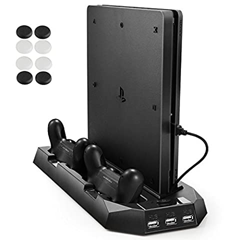 Station Recharge Ps4 - PECHAM (PS4 Slim / PS4) Ventilateur de
