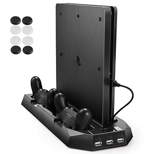 PECHAM PS4 enfriador vertical, PlayStation 4 y PS 4 Slim Consola de...