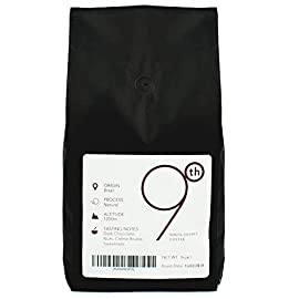 9th Degree – Grade 1 Specialty Coffee Beans 1kg – Medium Roasted Whole Coffee Beans – 100% Arabica