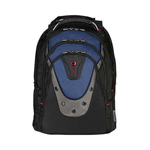 Wenger 600638 IBEX 17-Zoll-Laptop-Rucksack, Triple schützen Fach mit iPad/Tablet / eReader Pocket in blau {23 Liter} - 17 Zoll Rucksack Computer