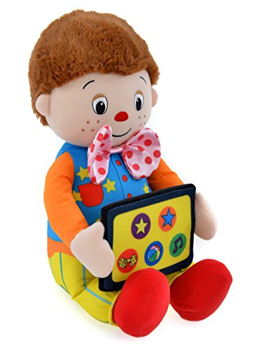 Image of Mr Tumble Soft Toy with Fun Tumble Tapp