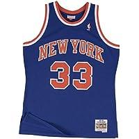 88605637a Mitchell   Ness Patrick Ewing  33 New York Knicks 1991-92 Swingman NBA  Jersey