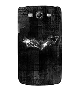 Bat 3D Hard Polycarbonate Designer Back Case Cover for Samsung Galaxy S3 i9300 :: Samsung I9305 Galaxy S III :: Samsung Galaxy S III LTE