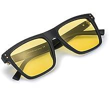 Gafas De Sol Amarillas Conducir Nocturnas para Hombre Polarizado - Protección ...