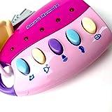 Lorenlli Simulation Fernbedienung Autoschlüssel Schloss Spielzeug Pretend Play Flashing Musik Elektronisches Spielzeug Frühe Pädagogische Spielzeug für Kinder