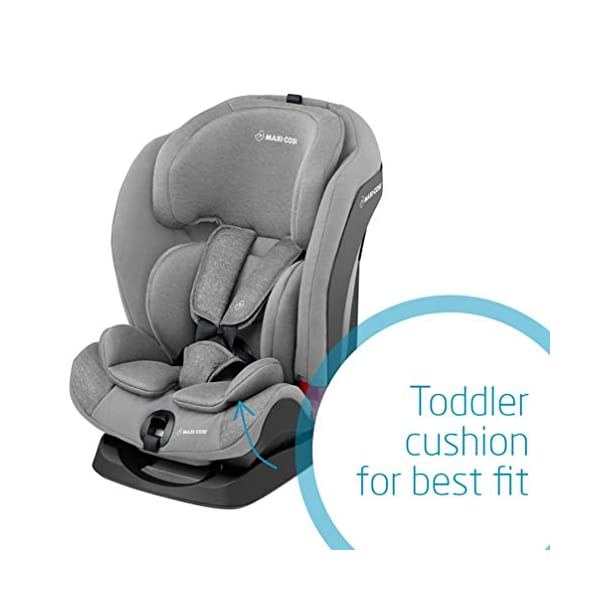 Maxi-Cosi Titan Toddler/Child Car Seat Group 1-2-3, Convertible, Reclining ISOFIX Car Seat, 9 m - 12 y, Nomad Grey Maxi-Cosi A multi-stage car seat suitable for babies, toddlers and children from 9 months to 12 years (approx. 9 - 36 kg) Easy adjustable and smooth headrest of this reclining car seat grows along in 11 steps to provide comfort for your little one Solid ISOFIX installation with top tether offers high stability for this convertible car seat 5
