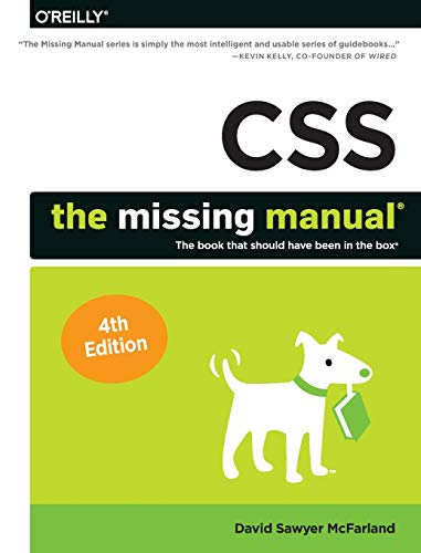 CSS - The Missing Manual, 4e -