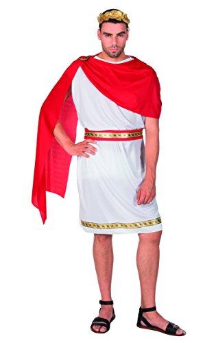 Boland 83805 Karnevalskostüm, weiß, - Caesar Kostüm Zubehör