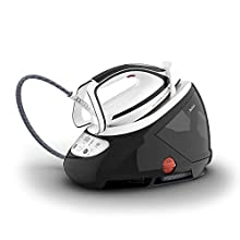 Tefal Pro Express Ultimate GV9550 High Pressure Steam Generator Iron, Black & White, 1.9 liters