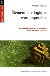 Eléments de logique contemporaine avec exercices et corrigés. 2° édition