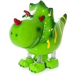 Hucha infantil de Dinosaurio Verde para niños