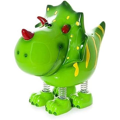 Dinero Huchas de dinosaurio verde para niños y niñas