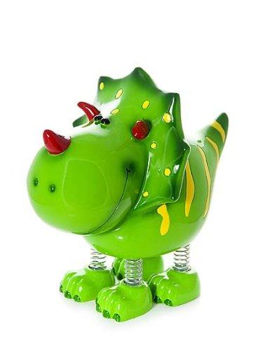 der Spardose Sparbüchse Piggy Bank Grün Dinosaurier für Jungen und Mädchen ()