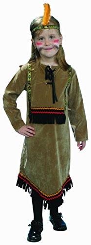 dress up America Deluxe indischen Kostüm-Set (Dress Up Gril)